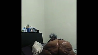 My 67 year old monster booty bbw gilf pt 3