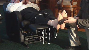 old stupid male sexy feet tickled