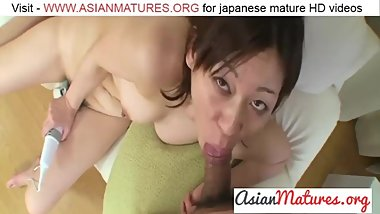 Haruko Ogura - Japan Mom First Porn Shoot