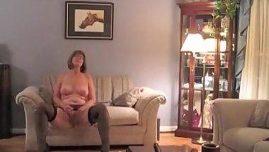 My MILF Exposed Amateur granny in lingerie teasing you