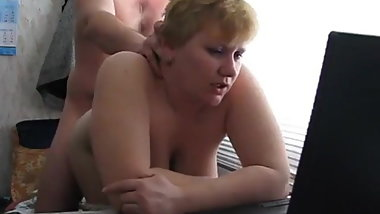 Quick sex: Sexy russian mature