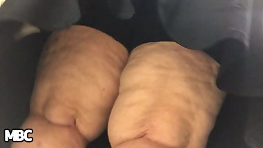 PAWG GRANNY UPSKIRT THICK BUSTY THIGHS