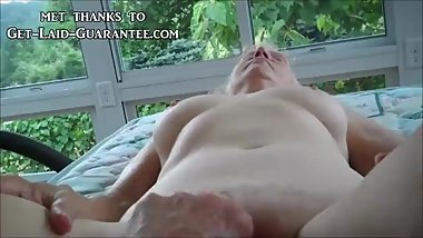 Granny Getting her pussy fingered
