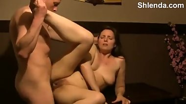 Sexy busty mature german mom milf homemade