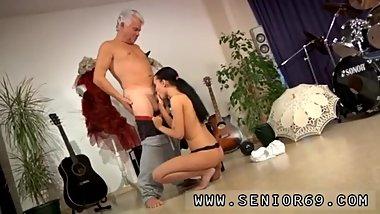 Old granny anal After an gruelling lesson the 2 get highly attracted to
