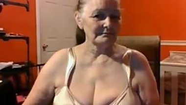 Grandma 68 years old with big tits