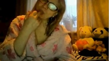 Granny Tease On Webcam