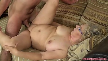 Blonde Granny Viola Jones in Hard Porn