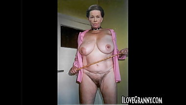 ILoveGrannY Hairy Pussies and Toys for Matures