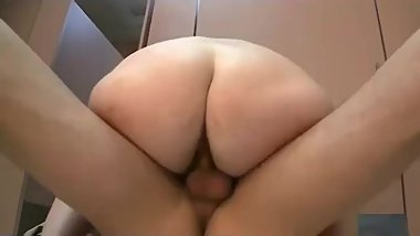 Shaved granny fucked in public
