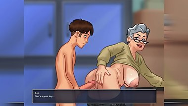Let's Play - Summertime Saga, Roz - All Sex Scenes