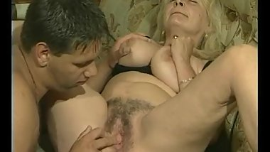 Blonde GILF With Big-Titties