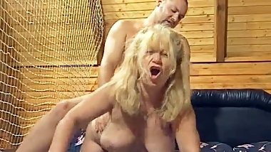 Wild Foursome Group Sex With German Grannies