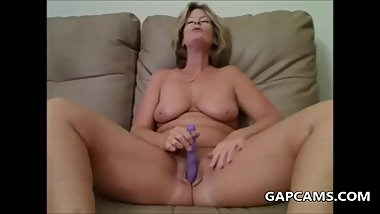 nasty granny masturbation
