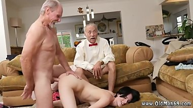 Megans old man garden and granny creampie nasty frannkie