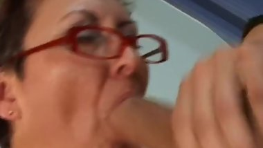 Granny banged by Boys