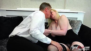 AgedLovE Suzie is Fucked by Handy Businessman Marc