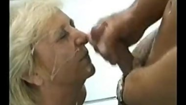 Unknown blonde grandma 1.