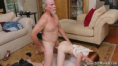 Old mature milf young girl and granny