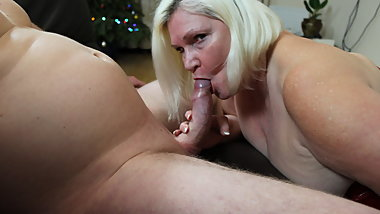 LACEYSTARR - Horny GILF Swallows Load