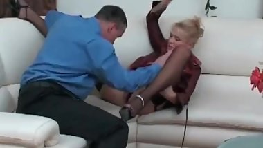 Slut whore fucking with a hot friend