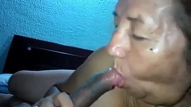 Amateur Asian Granny Head