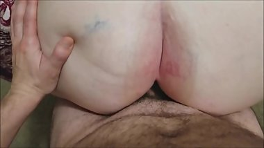 Fat Granny Gets Ass Fucked III
