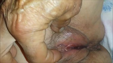 Aged to Perfection - Granny Pussy Closeup