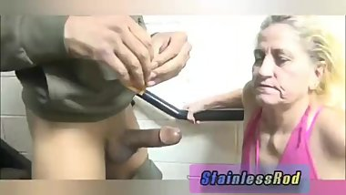 SBBW Granny still fucks other Men front of Husband
