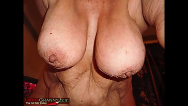 LatinaGrannY Hot Southern Grannies on all Four
