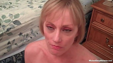 Rough Sex And Creampie For Granny