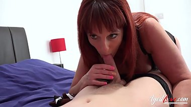 AgedLovE British Mature Blowjob and Pussy Licking