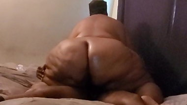 wide hip g booty bbw 51 year old granny riding on bbc part 3