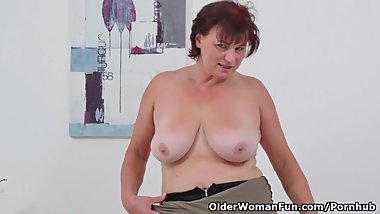 European gilf Danja needs to orgasm