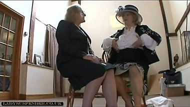dykes in panty girdles 1