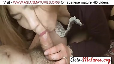 Chika Ohara - Fuck And Jizz Combo For Nice Japan Mom