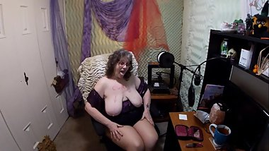 Sexy Bunny Gram Shows Community Titties, Smokes and wears Tan Pantyhose