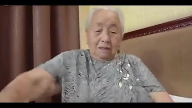 80yr old Japanese Granny Still Loves to Fuck Uncensored