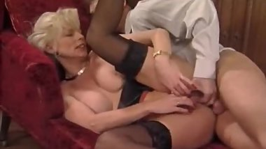 I am Pierced French granny fisted and fucked in her ass