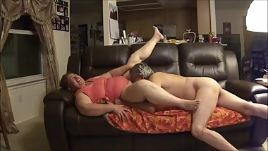 Horny Elder Couple on a sexual intercourse
