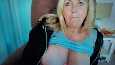 Mature Grandma Jackie Dirty Talk - Part 3