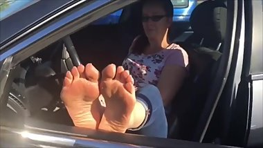 Michelle size10 @feetondash
