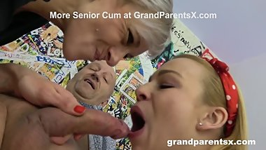 I Just Tasted my Grandpa's Cum