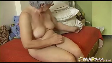 BBW Grannies and toy sex compilation