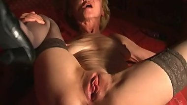 "Granny Rita (62): ""Boy, come close and fuck my dirty old pussy!"""