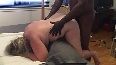 GILF fucked hard by Big Black Cock